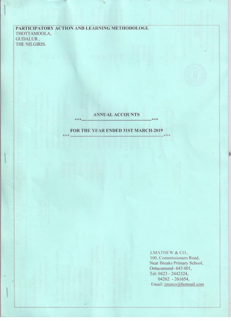 0. Audited Statement Front page 001